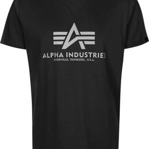 Alpha Industries Basic T-Shirt Reflective Print (100501RP)