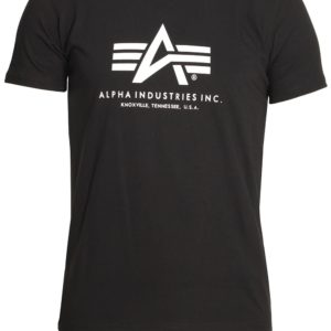 Alpha Industries Basic Large Logo T-Shirt - Black (100501/03)