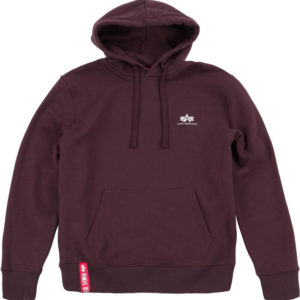 Alpha Industries Basic Hoody Small Logo - Deep Maroon (196318/21)