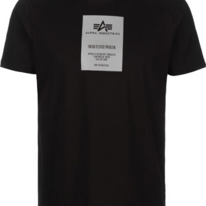 Alpha Industries Reflective Label T-Shirt - Black (126515/09)