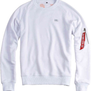 Alpha Industries X-Fit Sweatshirt - White (15820/09)