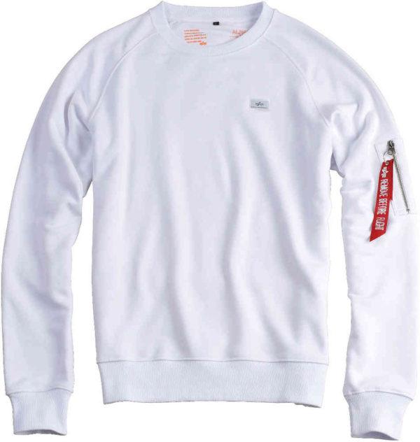 Alpha Industries X-Fit Sweatshirt - White (15820/09)