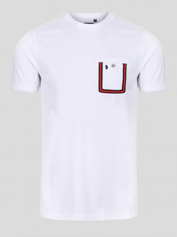 Luke Dr Dolittle T-Shirt - White (M560101)