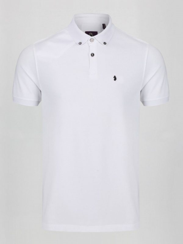 Luke New Bil Polo Shirt - White (ZM471402)