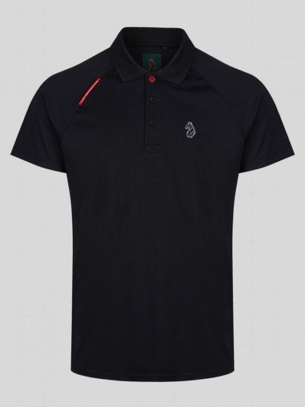 Luke Polo Shirt Thomas - Jet Black (M521458)