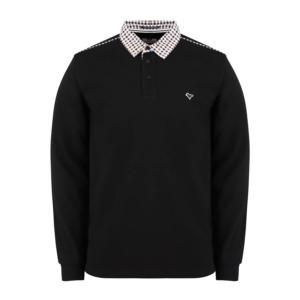 Weekend Offender Bentvena Polo Shirt - Black (POSS2010)