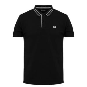 Weekend Offender Frankie Polo Shirt - Black (POSS2002)
