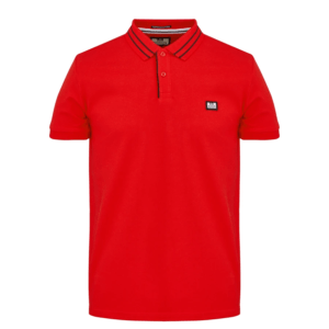 Weekend Offender Frankie Polo Shirt - Flame (POSS2002)