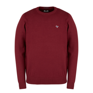 Weekend Offender Napoli Jumper - Burgundy (KWAW2001)