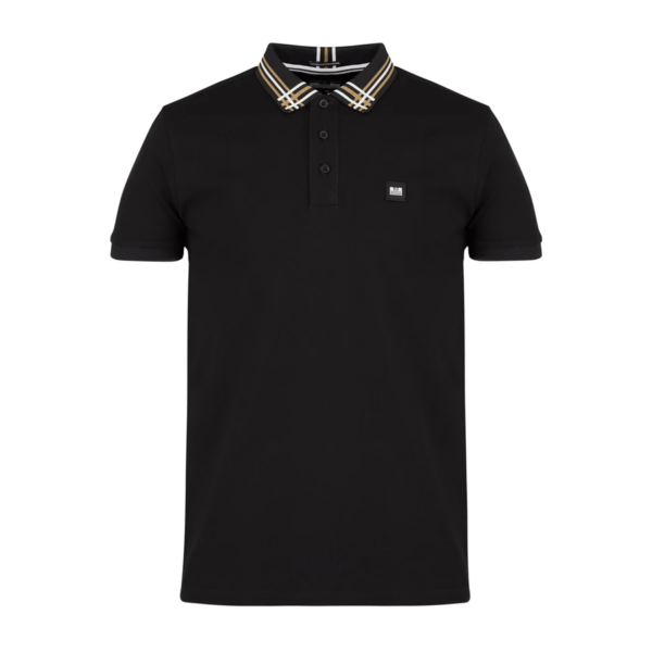 Weekend Offender Rivera Polo Shirt - Black (POAW2020)