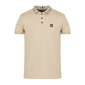 Weekend Offender Rivera Polo Shirt - Mushroom (POAW2020)
