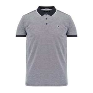Weekend Offender Sonny Polo Shirt - Navy/White (POSS2006)
