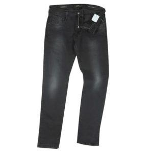 Replay Hyperflex Black Stretch Denim Jeans (M914Y)