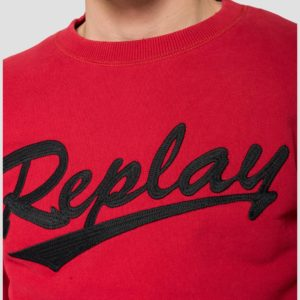 Replay Crewneck Sweatshirt – Red (M3230)