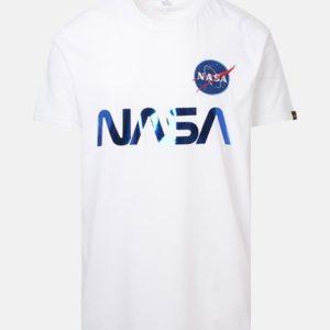 Alpha Industries Reflective T-Shirt - White/Blue (178501/90)
