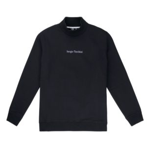 Sergio Tacchini Canning Roll Neck Sweatshirt – Black