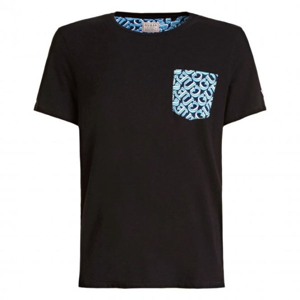 Guess Graphic Pocket Tee – Black (M0GI68K6XN0-FX92) Rated 0 out of 5