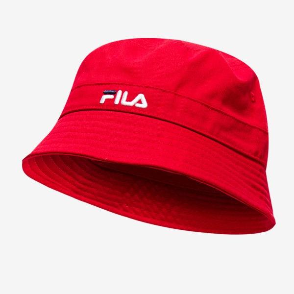 Fila Karnee Bucket Hat - Red (LA038142)