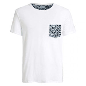 Guess Graphic Pocket Tee - White (M0GI68K6XN0-FJK0)