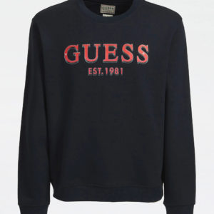 Guess red Logo Sweat - Navy (M0BQ76K9V31-G720)