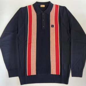 Gabicci Croxted Polo Shirt - Navy (V45GM06)