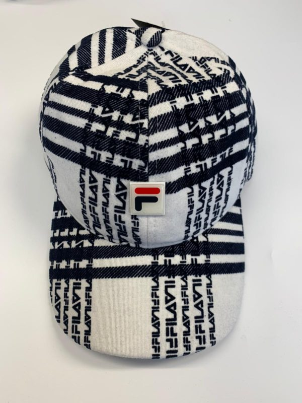 Fila Batts Baseball Cap - Heritage Check (LA038151-293)