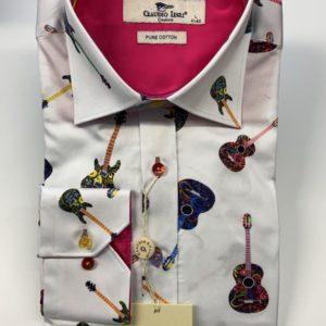 Claudio Lugli Long Sleeve Shirt - White (CP6590)
