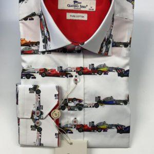 Claudio Lugli Long Sleeve Shirt - White (CP6285)