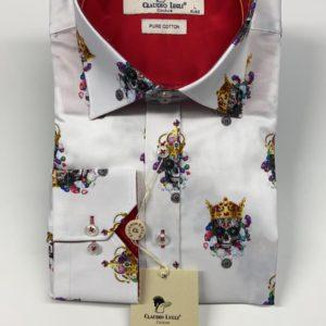 Claudio Lugli Long Sleeve Shirt - White (CP6529)