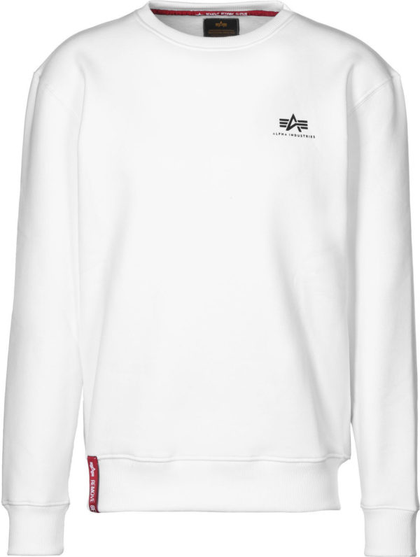Alpha Industries Basic Sweater Small Logo - White (188307/09)