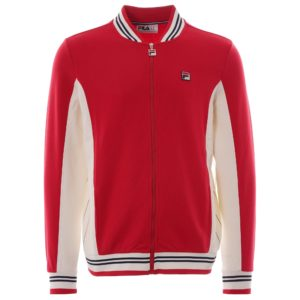 Fila Settanta Track Jacket - Chinese Red (LM161RN1)