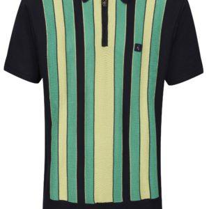 Gabicci Colt Knitted Polo Shirt - Navy (V44GM05)