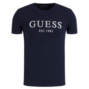 Guess Silver Logo Tee - Navy (M0GI03J1300-G720)