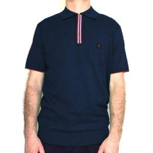 Gabicci Casino Polo Shirt - Navy (V44GM02)