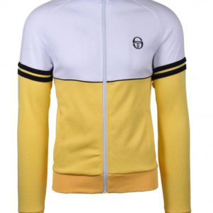 Sergio Tacchini Orion Track Top - Light Yellow/White (ST36969-035)