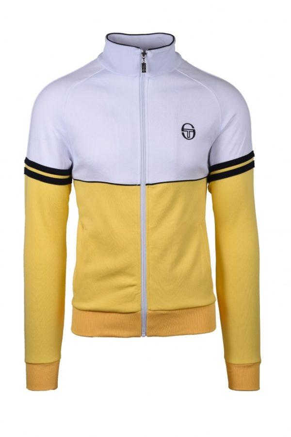 Sergio Tacchini Orion Track Top - Light Yellow/White (ST36969-035)