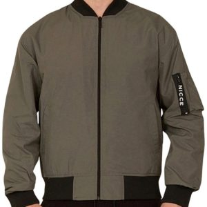 Nicce london MA1 Bomber Jacket - Khaki (NC207)