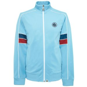 Pretty Green Piped Contrast Panel Track Top - Blue (S20MU13000064)