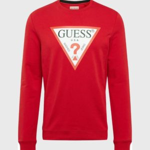Guess AudleyTriangle Logo Sweatshirt - Red (M92Q08K6ZS0)