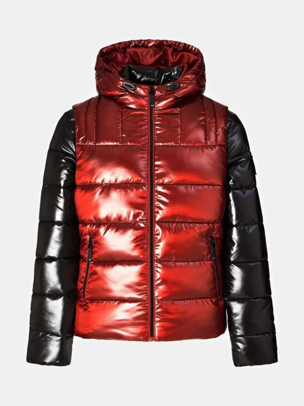 Guess Two in One Puffer Gilet and Jacket (M94L32WC200-FHJ5)