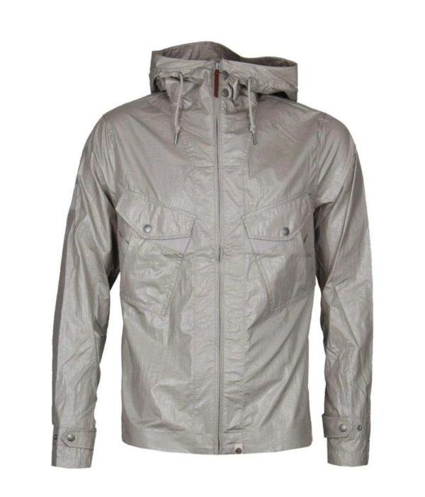 Pretty Green Zip Through Hooded Jacket - Grey (S8GMU14599649)