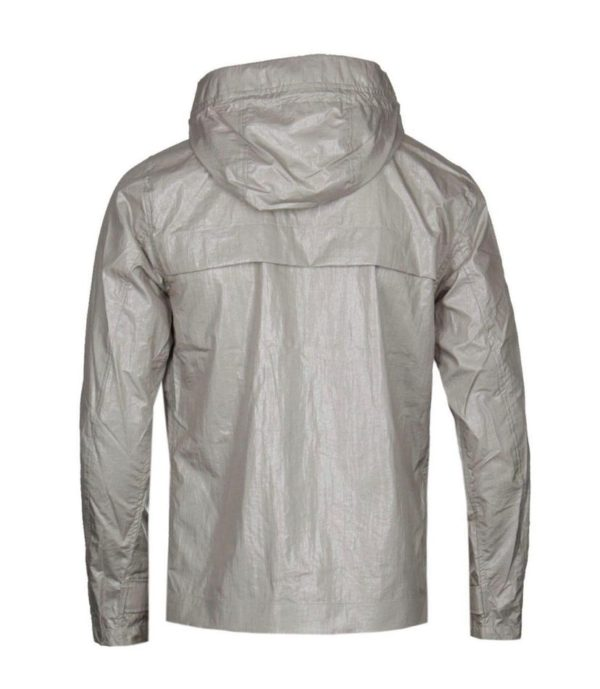 Pretty Green Zip Through Hooded Jacket - Grey (S8GMU14599649)