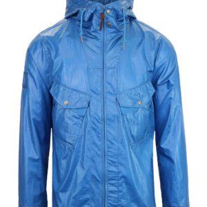 Pretty Green Zip Through Hooded Jacket - Blue (S8GMU14599649-B)