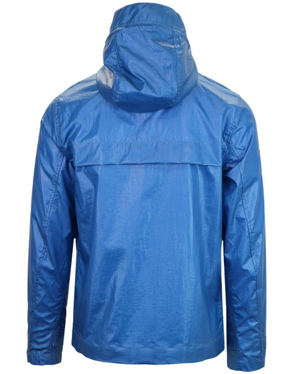 Pretty Green Zip Through Hooded Jacket - Blue (S8GMU14599649-B)