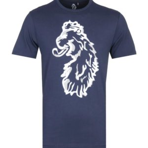Luke 1977 Amazing Flocker Tee - Very Dark Navy (ZM490103)