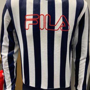 Fila Socca Sweatshirt - Peacoat (LM911439)
