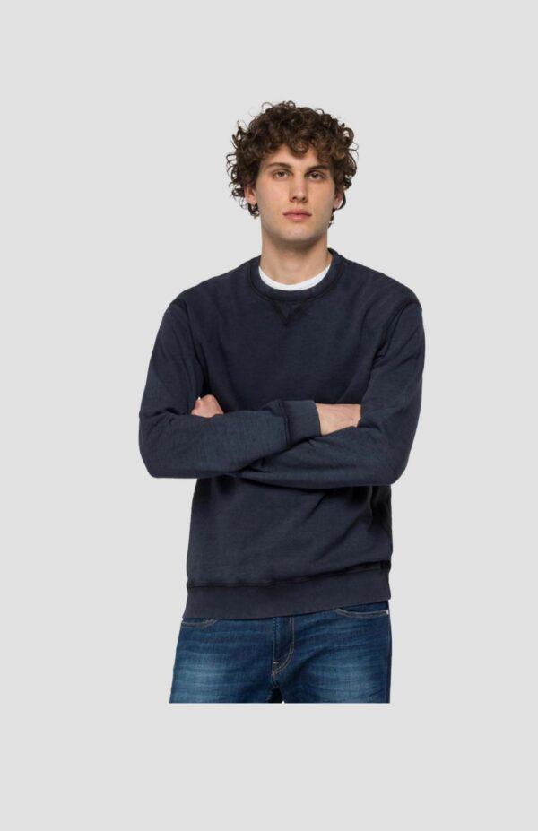 Replay Crewneck Sweatshirt in Organic Cotton (M3338 .000.23158G)