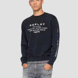 Replay Crewneck Sweatshirt in Cotton (M3335 .000.22738LM)