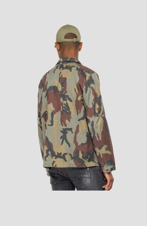 Replay Camouflage Cotton Twill Jacket (M8138A.000.73354)